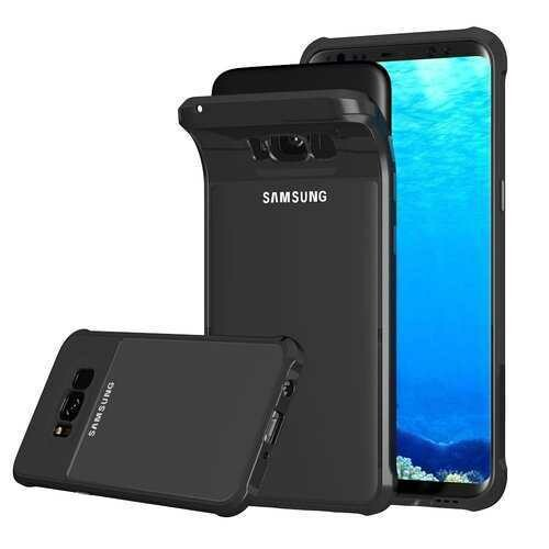 Air Cushion Corners Shockproof Protective Case For Samsung Galaxy S8 Plus