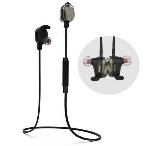 WK Magnetic Wireless bluetooth Earphone Bass Waterproof Lightweight Sports Headset Earphone With Mic