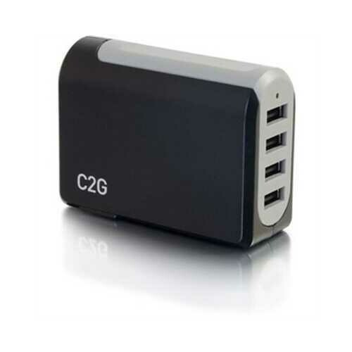 4 Port USB Wall Chgr AC to USB