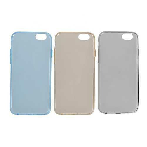 Rock Transparent Clear Invisible Dust Plug Soft TPU Case For iPhone 6