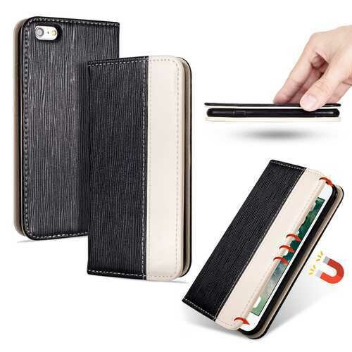 Bakeey Premium Magnetic Flip Card Slot Kickstand Protective Case For iPhone 6/iPhone 6s