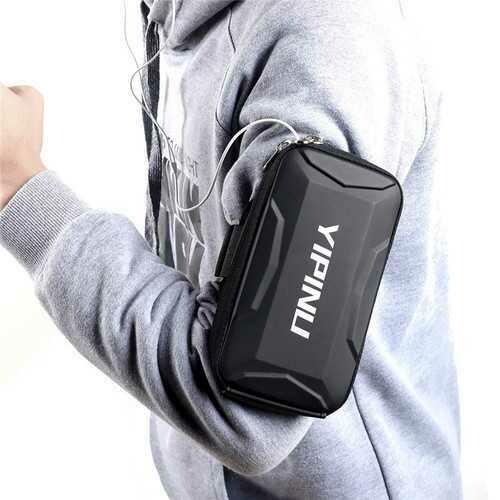 YIPINU Sport Running Waterproof Large Capacity Arm Bag for Samsung Xiaomi Mobile Phone Non-original