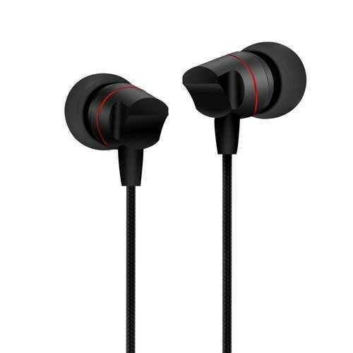 Joyroom Heavy Bass Earphone 3D Stereo In-ear Braided Wired Control Headphone with Mic