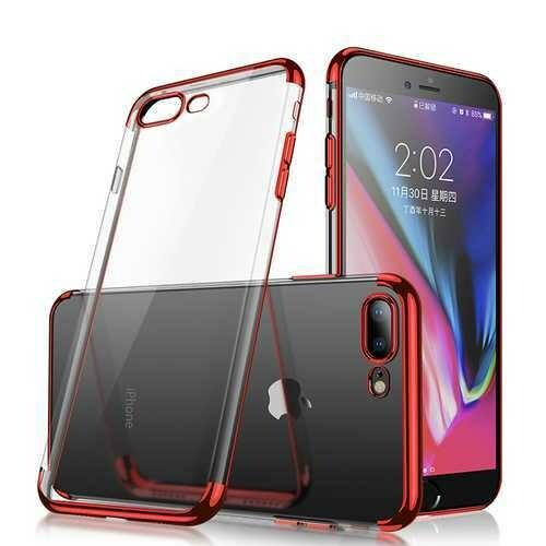 "Cafele Plating Transparent Soft TPU Case For iPhone 7 Plus/8 Plus 5.5"""