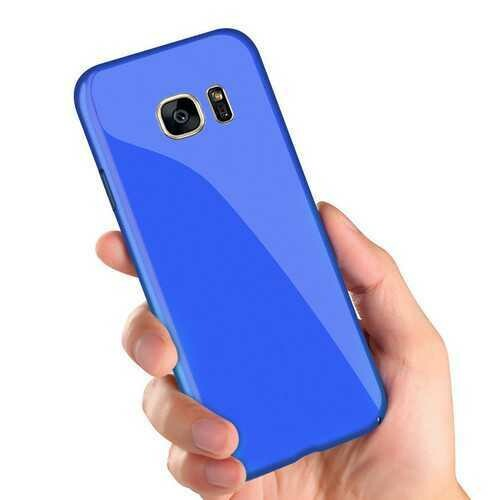 Bakeey Piano Paint Glossy Hard PC Protective Case for Samsung Galaxy S7 Edge