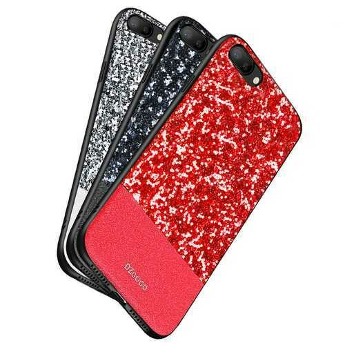 DZGOGO Diamond Bling PU Leather Protective Case for iPhone 7Plus/8Plus