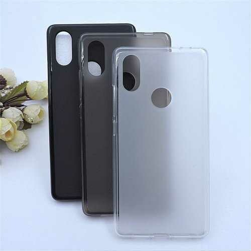 """Bakeey?""""? Matte Shockproof Soft TPU Back Cover Protective Case for Xiaomi Mi8 SE"""