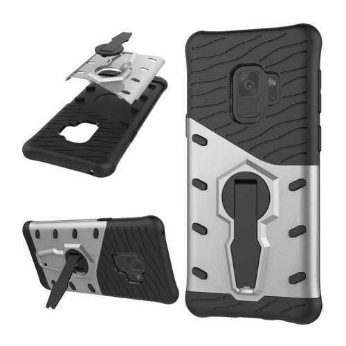 "Bakeey?""? Armor Rotating Kickstand PC TPU Protective Case for Samsung Galaxy S9"