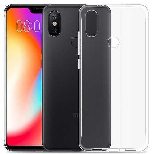 Bakeey Transparent Ultra Slim Soft TPU Protective Case For Xiaomi Mi A2 Lite / Xiaomi Redmi 6 Pro Non-original