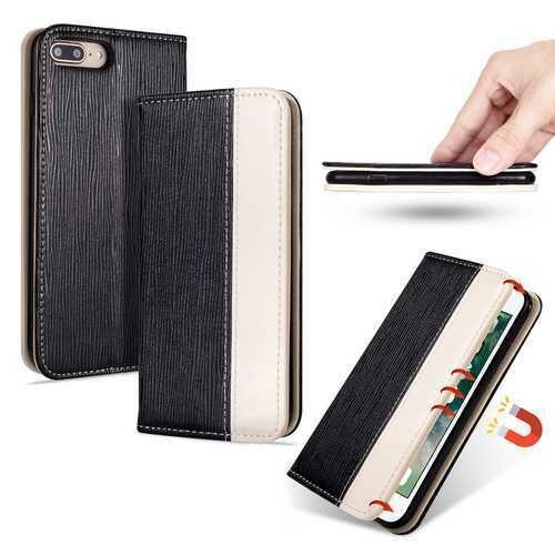 Bakeey Premium Magnetic Flip Card Slot Kickstand Protective Case For iPhone 7 Plus/8 Plus
