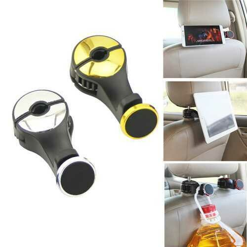 Universal Powerful Magnetic 360 Degree Rotation Headrest Car Holder for Mobile Phone Tablet