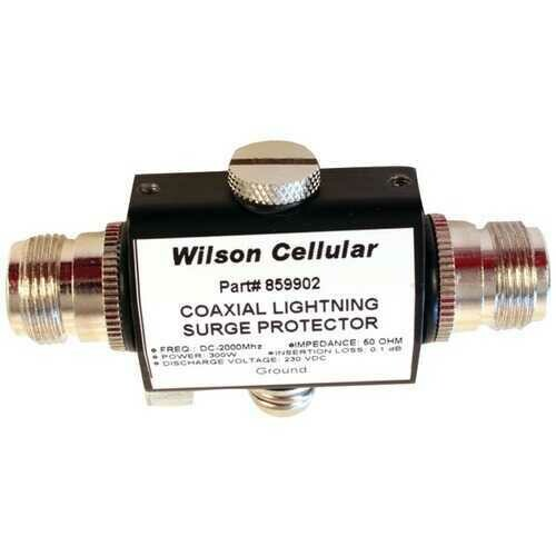 Wilson Electronics 859902 50ohm Lightning Surge Protector with N-Female Connectors