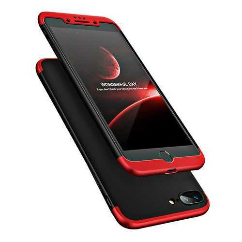 """Bakeey?""""? 3 in 1 Double Dip 360?° Full Protection PC Case for iPhone 7/8 7Plus/8Plus"""