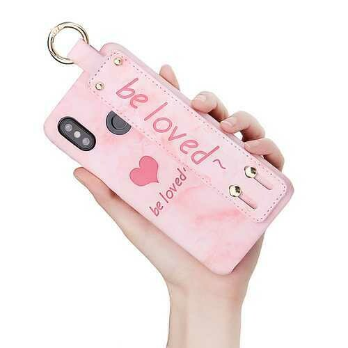 Bakeey Fashion Armband Ring Hold Protective Case For Xiaomi Mi8 Mi 8 6.21 Inch