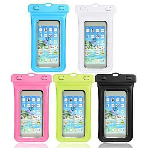 Univeral Waterproof Sealed Phone Case With Back Holder For 3.5-4.5 Inch