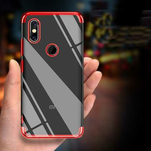 Bakeey Luxury Ultra Thin Color Plating Shock-proof Soft TPU Protective Case For Xiaomi Mi Max 3 Non-original