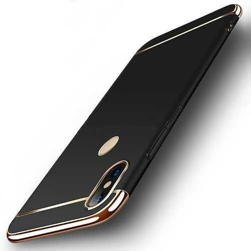 Bakeey Luxury 3 in 1 Plating Frame Splicing PC Hard Protective Case For Xiaomi Mi A2 / Xiaomi Mi 6X Non-original