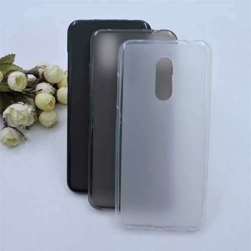"""Bakeey?""""? Matte Shockproof Soft TPU Back Cover Protective Case for Xiaomi Redmi 5"""