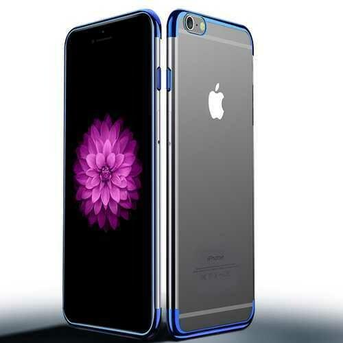 "Cafele Plating Transparent Soft TPU Case For iPhone 6 Plus/6s Plus 5.5"""