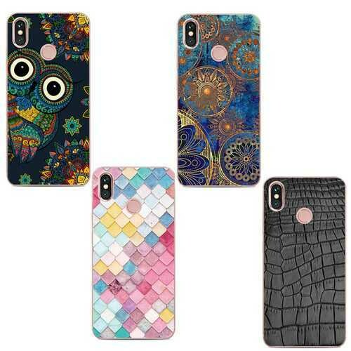Colorful Shockproof Soft TPU Back Cover Protective Case for Xiaomi Redmi Note 5 / Note 5 Pro