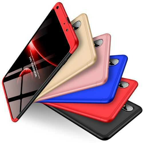 "Bakeey?""? 3 in 1 Double Dip 360?° Full Protection PC Protective Case For Xiaomi Mi MIX 2S Non-original"