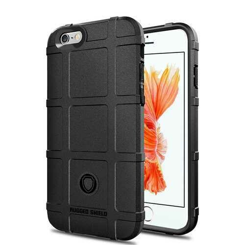 Bakeey Rugged Shield Soft Silicone Protective Case for iPhone 6/6s
