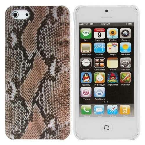 Fashion Leopard Grain Pattern TPU Case Cover Skin For iPhone 5