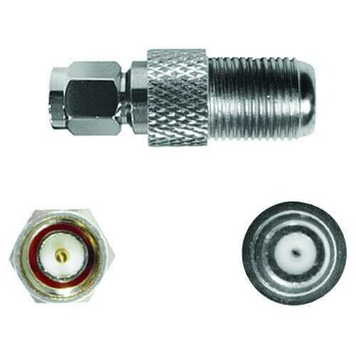 WILSON ELECTRONICS 971165 SMA-Male to F-Female Connector