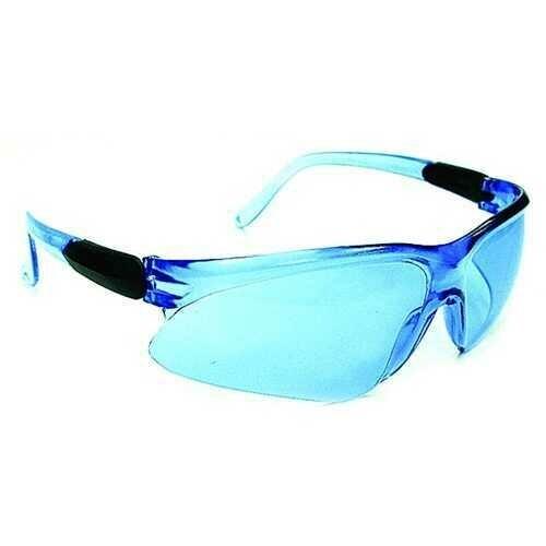 Case of [60] Wisdom Safety Glasses - Sky Blue Lenses