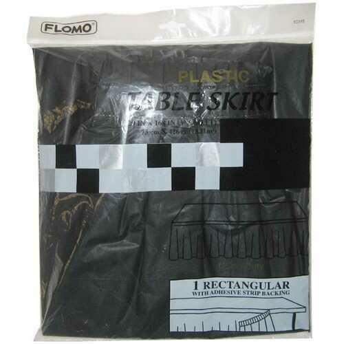 Case of [36] Black Table Skirt