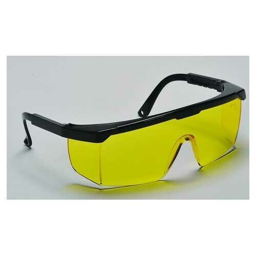 Case of [60] Hurricane Safety Glasses Amber