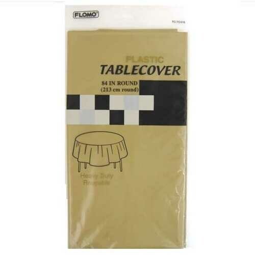 Case of [36] GOLD ROUND TABLE COVER
