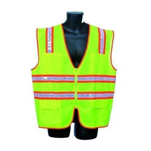 Case of [30] Green Surveyor Vest Large