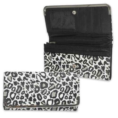 Case of [6] Leopard Clutch Wallet