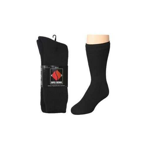 Case of [60] Ultimate Thermal Brushed Lined Socks - 1 Pair
