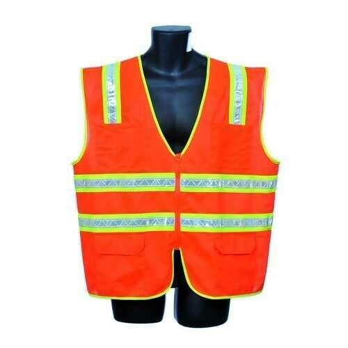 Case of [30] Orange Surveyor Vest Small