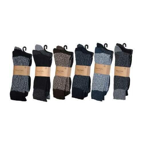 Case of [36] Men's Marled Boot Socks - 2 Pack