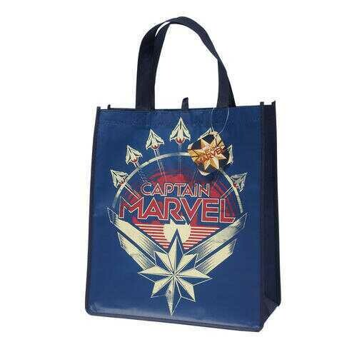 Case of [96] Captain Marvel Bag- Assorted Colors