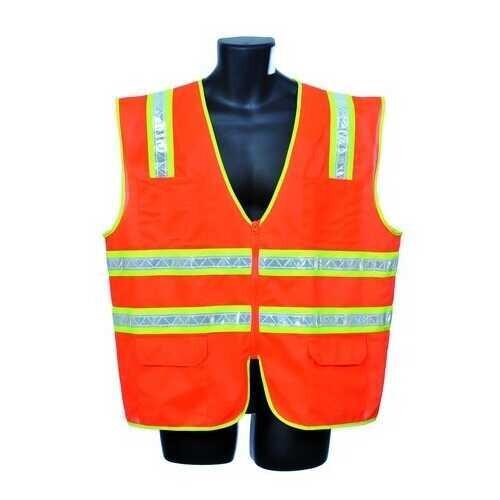 Case of [30] Orange Surveyor Vest 4XL