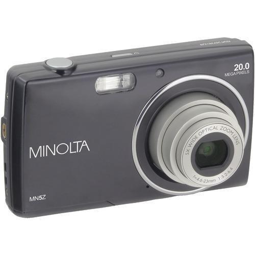 Minolta 20-megapixel Mn5z Hd Digital Camera With 5x Zoom (black) (pack of 1 Ea)