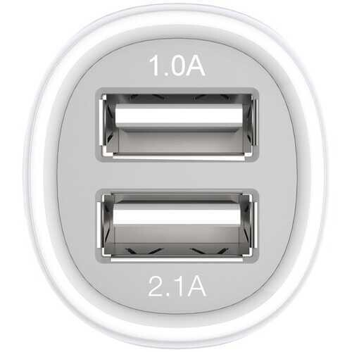 Kanex 2.1-amp 2-port Usb Car Charger (pack of 1 Ea)