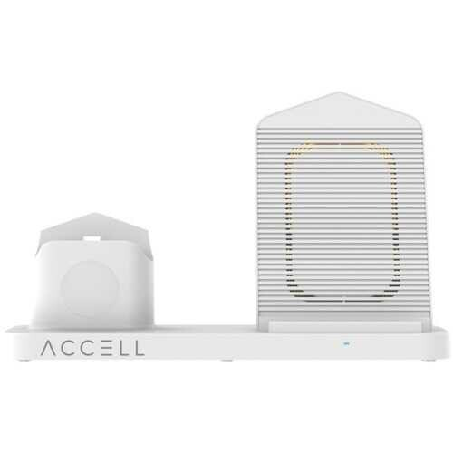 Accell 3 In 1 Fast Wireless Charger (white) (pack of 1 Ea)