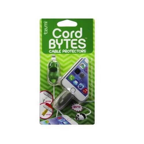 cord bytes 2 pack shark & dinosaur cord protectors ( Case of 24 )