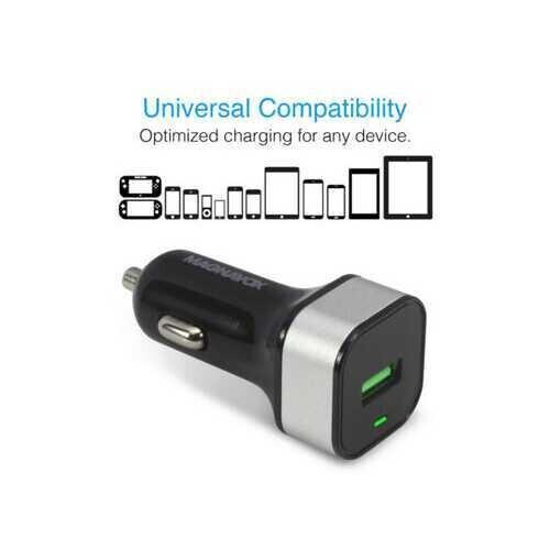 MAGNAVOX USB 30 Quick USB Car Charger ( Case of 15 )