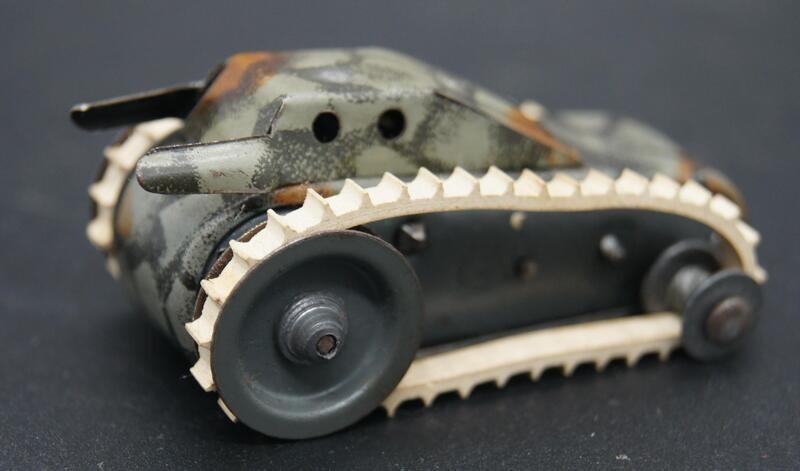 Kleiner Panzer, ungemarkt