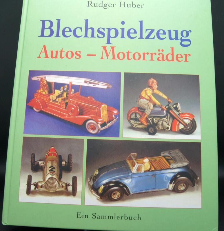 Blechspielzeug: Autos-Motorräder