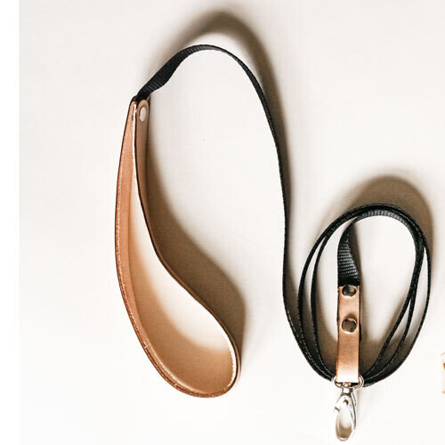 Lightweight Leather Detail Leash