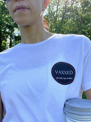 Vaxxed -Wear your vaccination badge and comfortably be out without a mask!