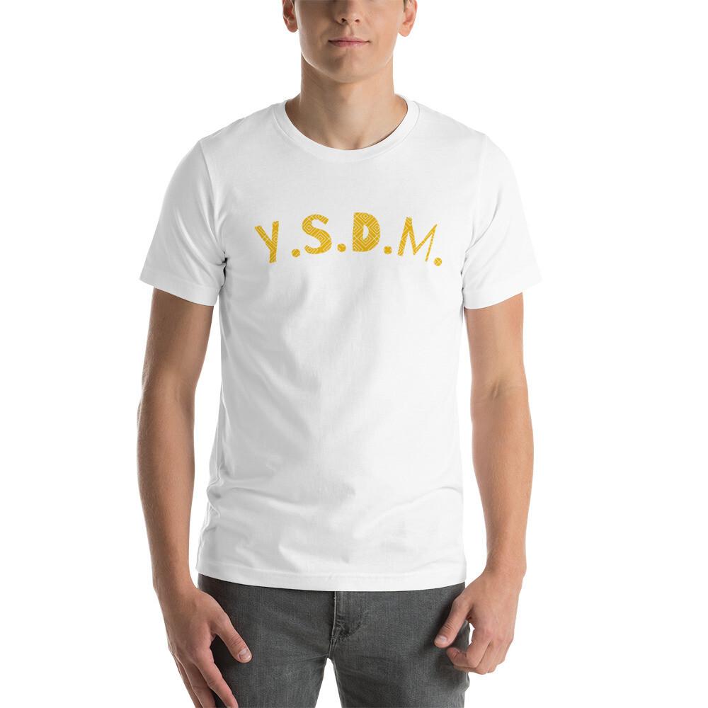 Y. S.D.M. abbreviation Short-Sleeve Unisex T-Shirt copy