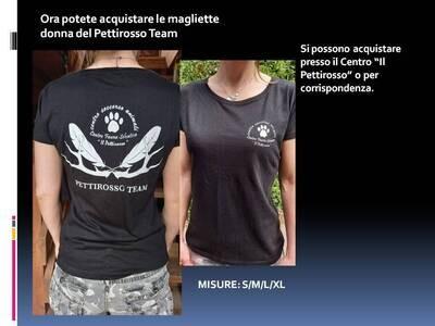 Maglietta Pettirosso Donna